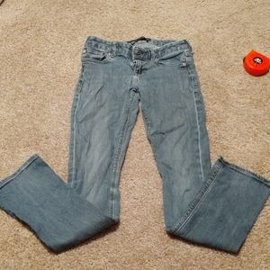 Express jeans size 0 barely boot Stella lowrise